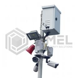 4G LIVE View 360 Security Alarm System Camera 4K