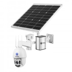 24/7 Solar 4G Security Camera LIVE View