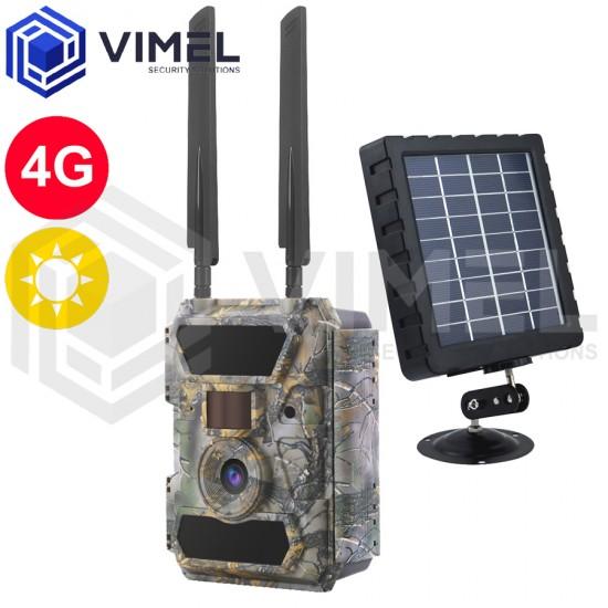 4G Solar Powered Hunting Camera