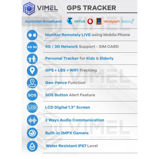 4G Mini GPS Tracker for Kids and Elderly