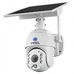 4G PTZ Security Solar Camera