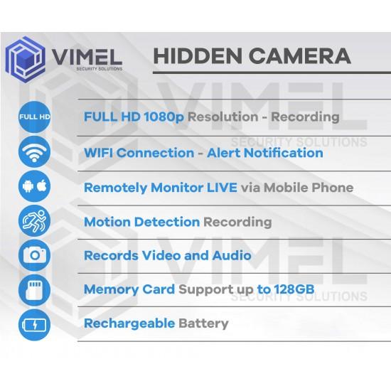 Spy LIVE View Car Key Recorder
