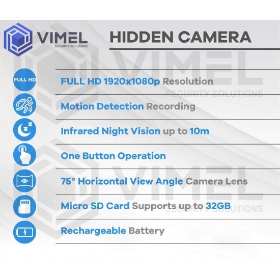 Night Vision Power Bank Spy Camera