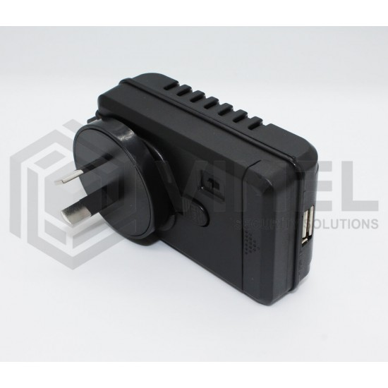 24/7 Motion Activated Hidden Wall Charger Camera