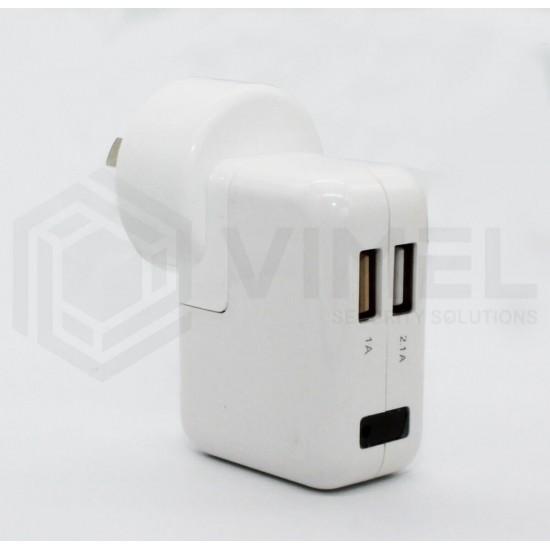 24/7 Spy Wall Power Adapter Camera