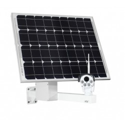 4G Remote View Construction Camera Solar Powered  Optical 5X PTZ 3G