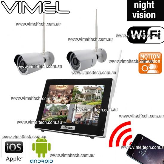 Home Security Cameras WIFI Wireless Alarm System
