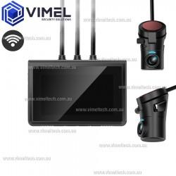 Dual Dash OBD2 WIFI Camera Security Parking Guard