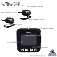 Motorbike Dual Camera Vimel Motorcycle Australia