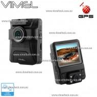 Vimel Dash camera Dual GPS Taxi Uber Security Parking Guard