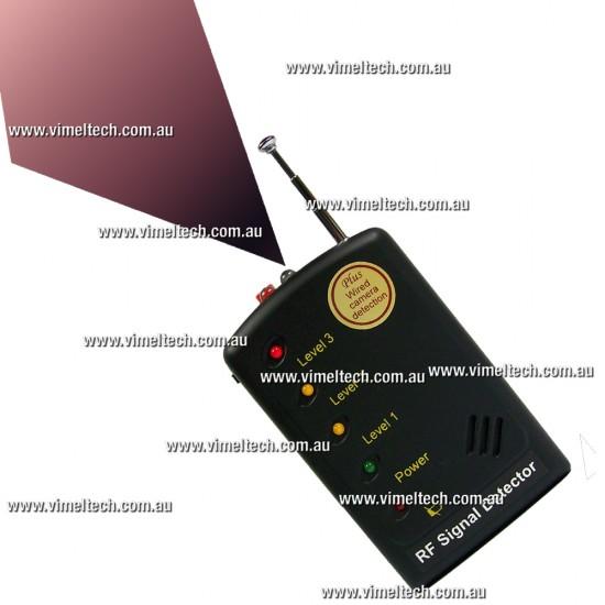 Spy Cameras Detector Bugs Phones Cameras GPS