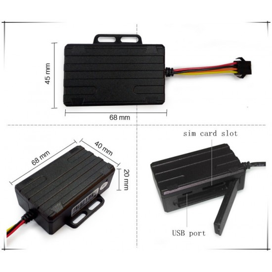 Car 3G GPS tracker hardwired live tracking Australia