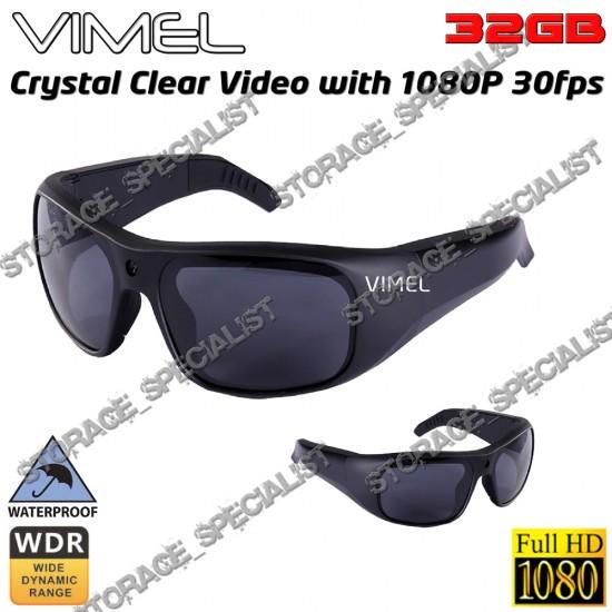 Sunglasses Camera Professional Sony 1080P Glasses Spy Hidden