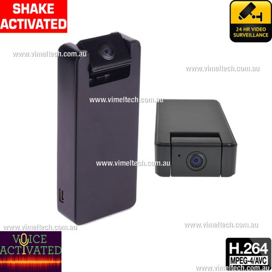 Spy Camera HD Motion Voice Activated Covert Cam