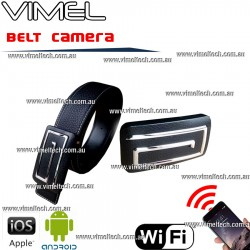 Belt Spy Camera WIFI IP Hidden Remote View Live stream