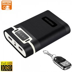 Hidden Camera 1080P Power Bank Spycam