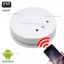 Professional Spy IP Camera Smoke Detector Night Vision