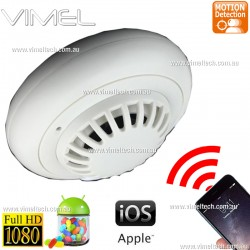 Smoke Detector IP Camera Spy Hidden 1080P