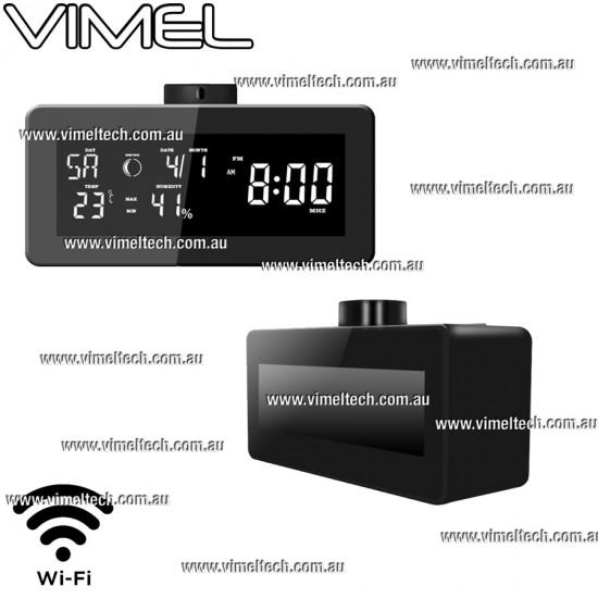 Home Security Clock Spy Hidden Camera Motion Detection