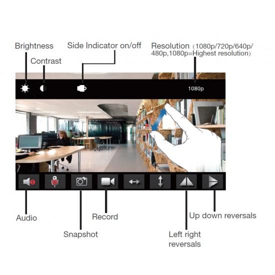 Professional Hidden  Camera 1080P Full HD Spy Recorder
