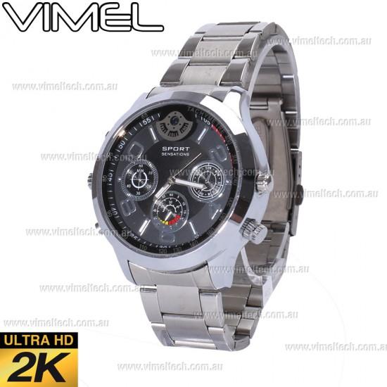 Spy Watch Luxury 2K Hidden Watch Camera