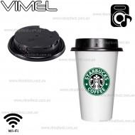 Spy Camera Hidden IP Coffee Cup Night Vision