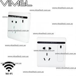 IP Camera Hidden Covert Power Socket Security Night Vision Australia