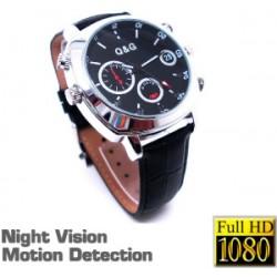 Watch Spy Video Camera Full HD Waterproof night vision