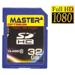 Master 32GB Optimum SDHC SD Memory Card Class 10 SD Full HD support