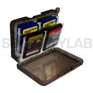 Plastic Case Holder Box Card SD Card Memory SDHC SD SDXC flash cards storage