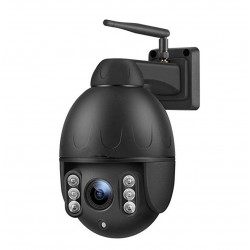 VIMEL 4G Outdoor PTZ 5Mpx WIFI Surveillance Camera 2K Ultra HD