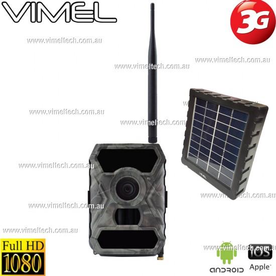 3G Hunting Trail Solar Camera GSM Farm Security