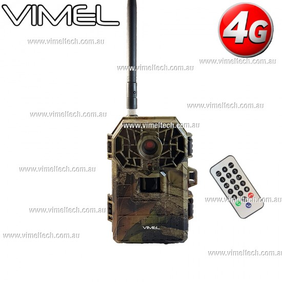 4G Security Camera 3G Trail Hunting Cam Black Flash