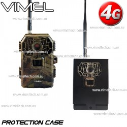 4G Trail Camera Hunting Anti Theft Metal Protection Box