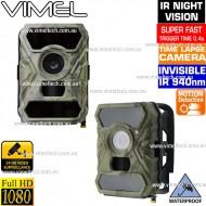Trail Camera 1080P Super Fast Black Flash Australia