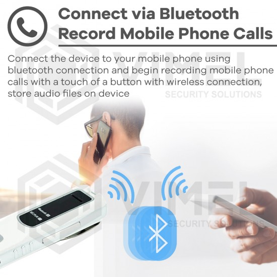 Wireless Voice Recorder Bluetooth for Mobile Phone Calling